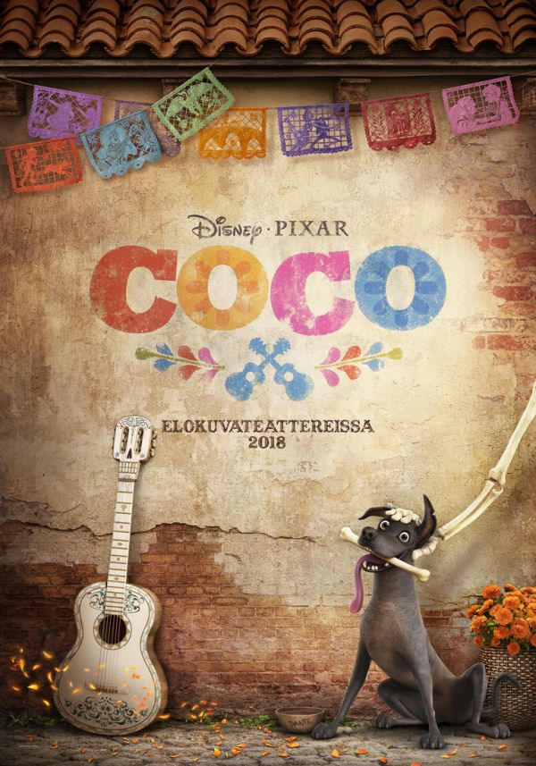 Coco 2D, puhumme suomea