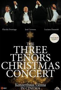 Joulukonsertti: Kolme tenoria: Domingo, Pavarotti, Carreras