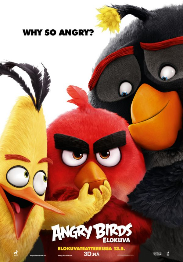 Angry Birds-elokuva 3D, puhumme suomea
