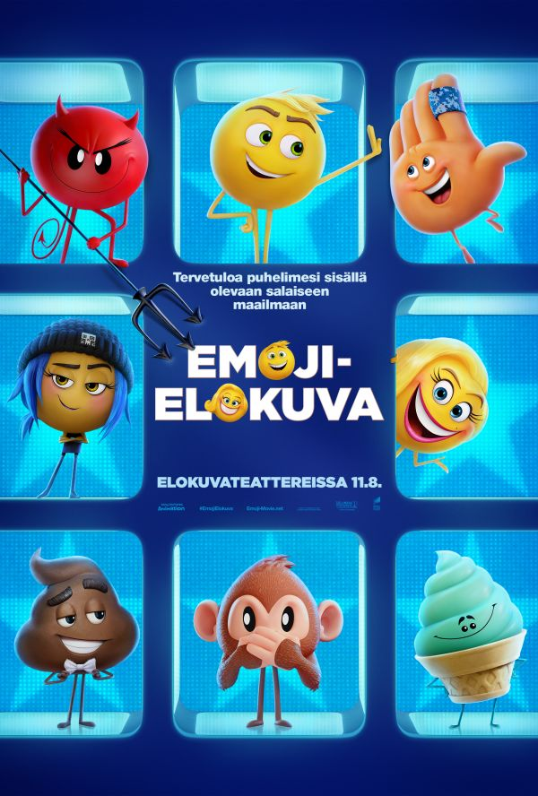 The Emoji-elokuva, puhumme suomea