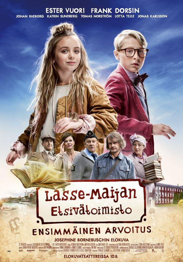 LasseMaijan etsivätoimisto, Ensimmäinen arvoitus