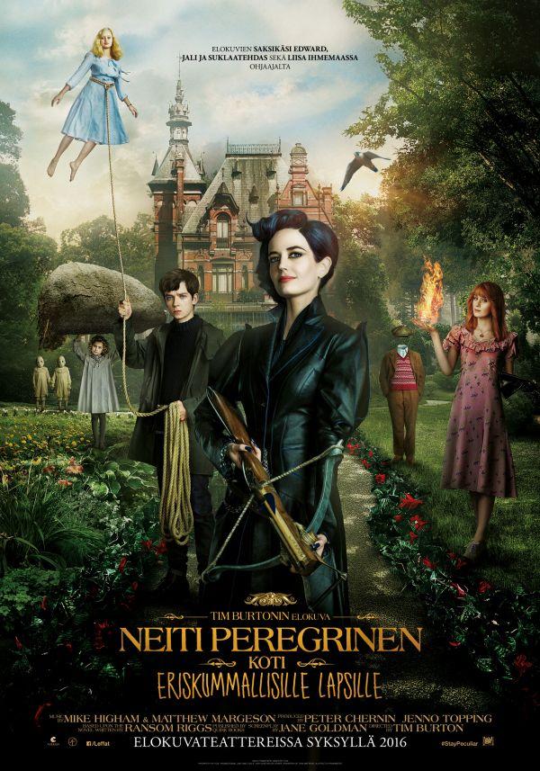 Neiti Peregrinen koti eriskummallisille lapsille 2D