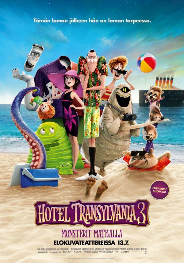 Hotel Transylvania 3: Monsterit matkalla 2D, puhumme suomea