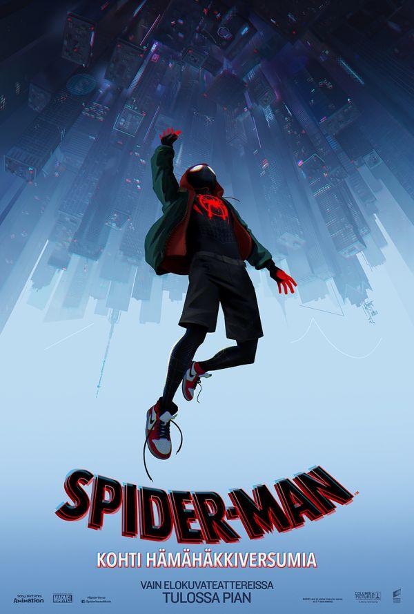 Spider-man: Kohti hämähäkkiversumia, puhumme suomea