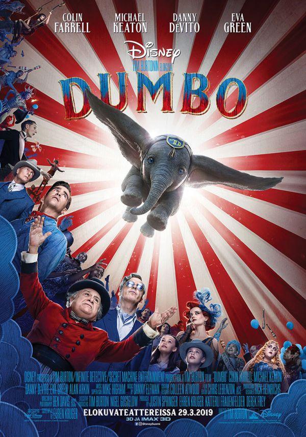 Dumbo, puhumme suomea