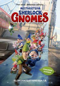 Mestarietsivä Sherlock Gnomes, puhumme suomea