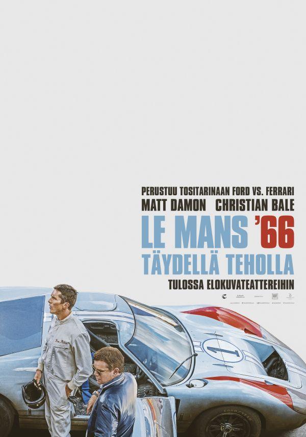 Le Mans 66: täydellä teholla