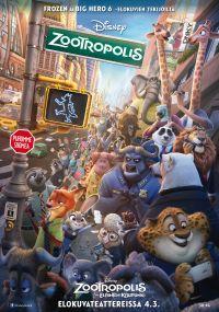 Zootropolis-eläinten kaupunki 3D, puhumme suomea