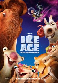 Ice age: törmäyskurssilla 3D, Eng puhe, suomi teksti