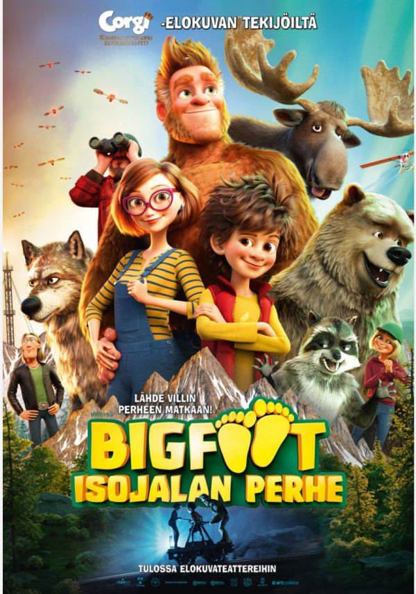 Bigfoot: Isojalan perhe