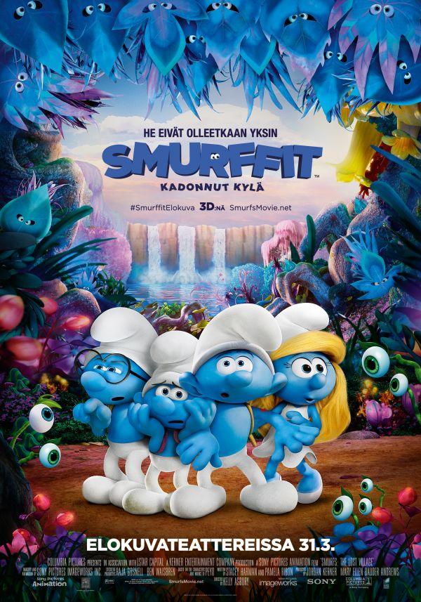 Smurffit: kadonnut kylä 2D, puhumme suomea