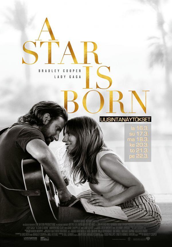 A Star Is Born, UUSINTANÄYTÖS