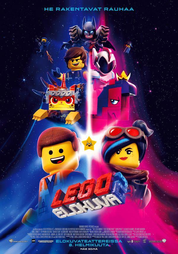 Lego elokuva 2., puhumme suomea