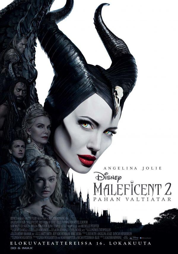 Maleficent - pahan valtiatar