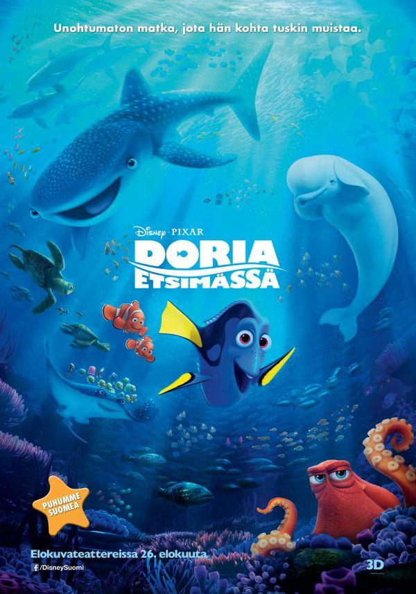 Doria etsimässä 3D puhumme suomea