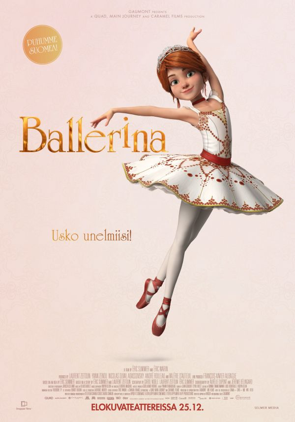 Ballerina, puhumme suomea