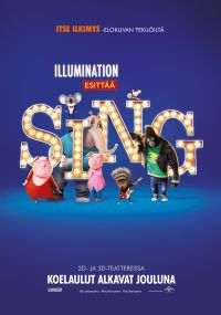 Sing, 3D,  puhumme suomea